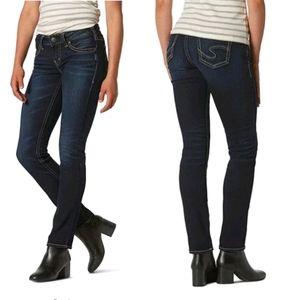SILVER JEANS - SUKI Mid Straight Jean